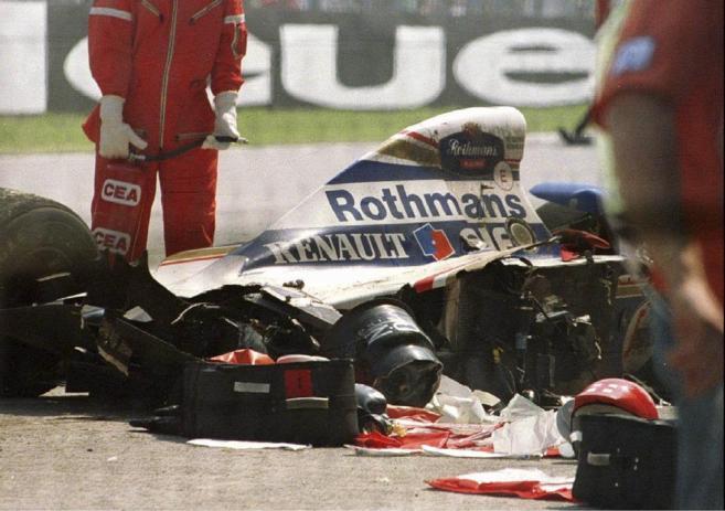 Accidente de Ayrton Senna en Imola en 1994.