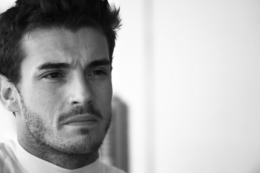 Jules Bianchi, el viernes 3 de octubre de 2014, dos días antes del...