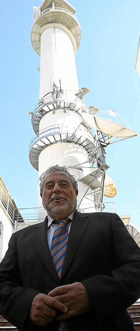 Joaquín Durán, en las instalaciones centrales de la RTVA.