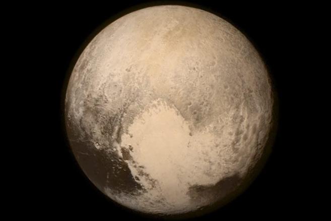 Plutón, captado por la sonda New Horizons.