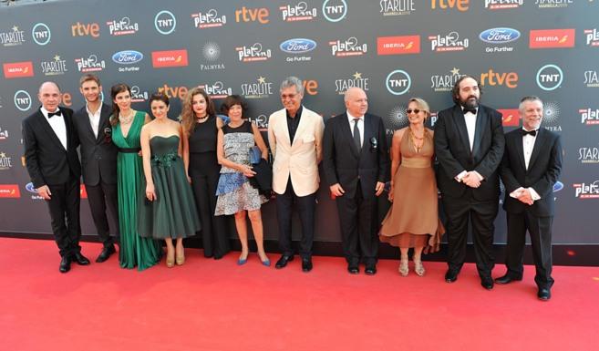 EL equipo de 'Relatos Salvajes', ganadora de 8 premios...