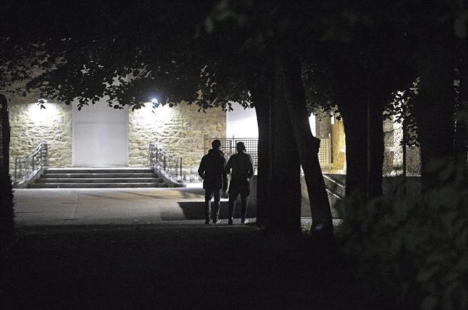 Dos menores acceden de madrugada al centro deBideberria de Vitoria en...