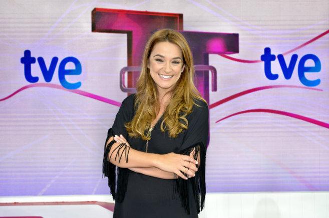 Toñi Moreno, presentadora de 'Entre todos'.