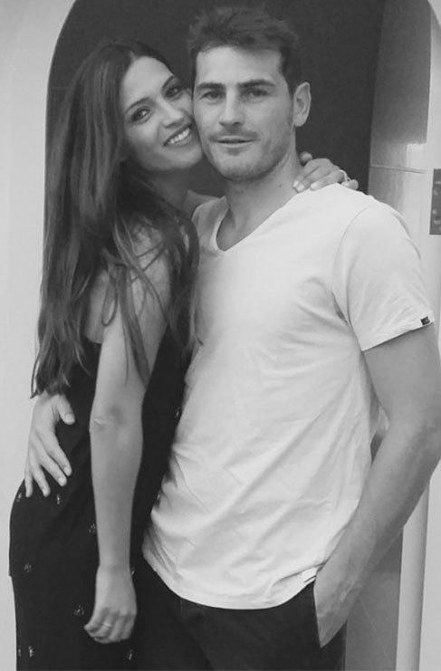 La bonita imagen de Sara Carbonero y Casillas que ella misma ha...