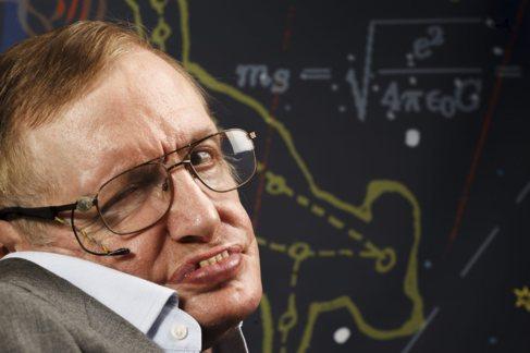 Stephen Hawking físico teórico, astrofisico, cosmólogo y divulgador...