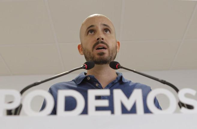 El portavoz económico de Podemos, Nacho Alvarez