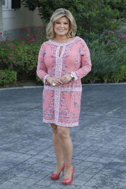 La presentadora Terelu Campos, hija de María Teresa.