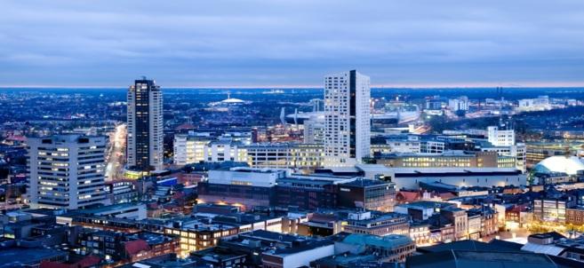 Panorámica de la ciudad holandesa de Eindhoven.