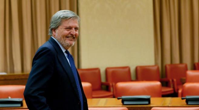 El ministro de Educación, Cultura y Deporte, Ínigo Méndez de Vigo,...
