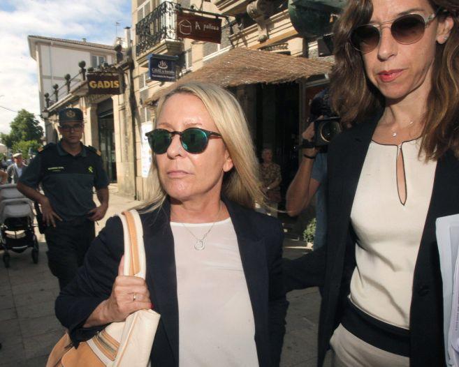 Marina Castaño, viuda del premio nobel Camilo José Cela, a su...