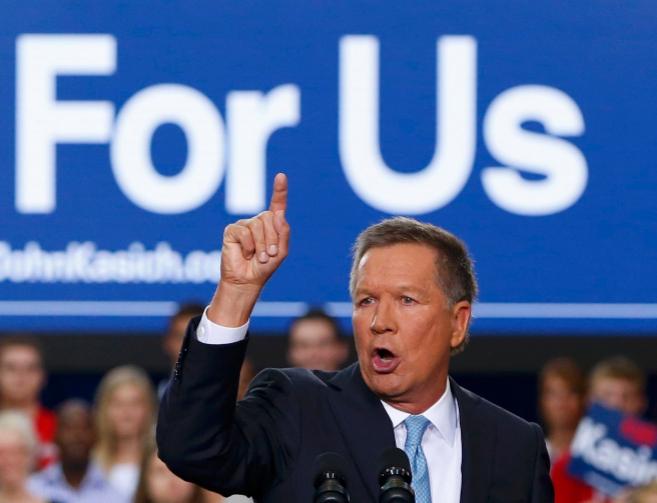 El republicano John Kasich anuncia formalmente su candidatura a la...