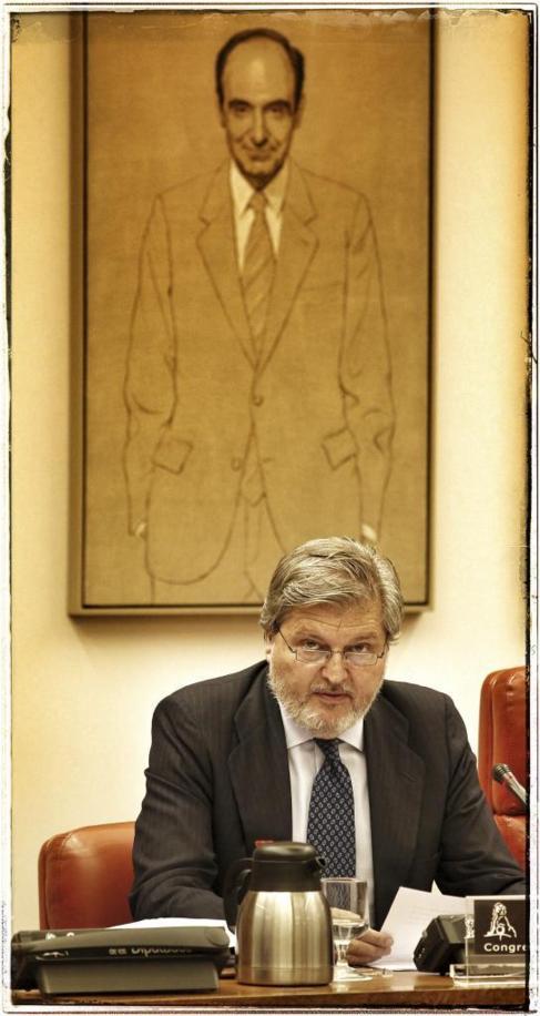 Méndez de Vigo en la Comisión de Educación y Deporte.