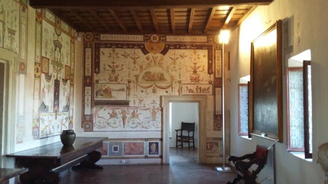 Interior de la prisión 'Cagliostra' en el Castillo de...