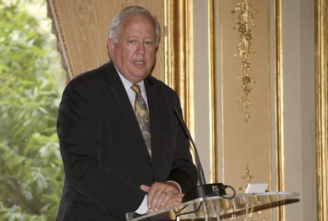 El consejero del Departamento de Estado de EEUU,Thomas A. Shannon, en...