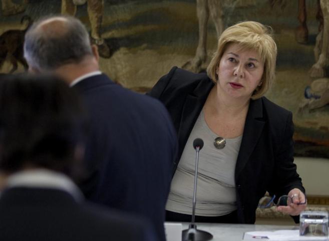 Dolores Vazquez, en el Observatorio para la presunción de la...