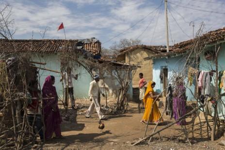 Explotación laboral India mica