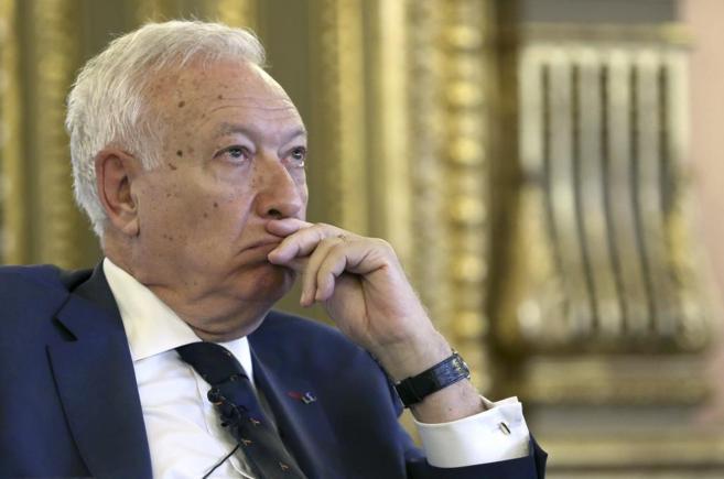 García Margallo, durante su participación en un Foro de la Red de...