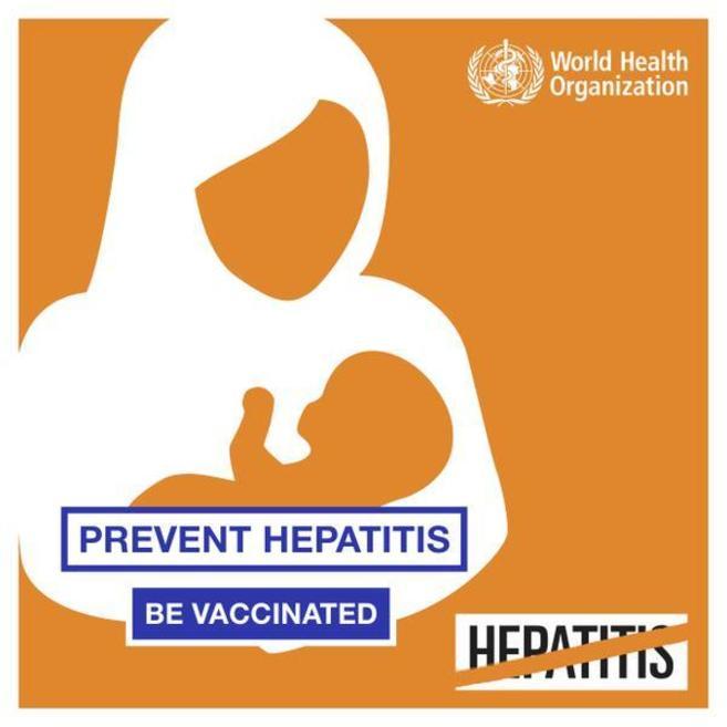 Cartel de la campaña de la OMS, donde se hace un llamamiento por la...