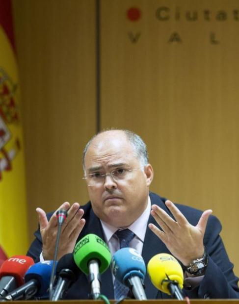 El presidente de la Audiencia Provincial de Valencia, Fernando de...