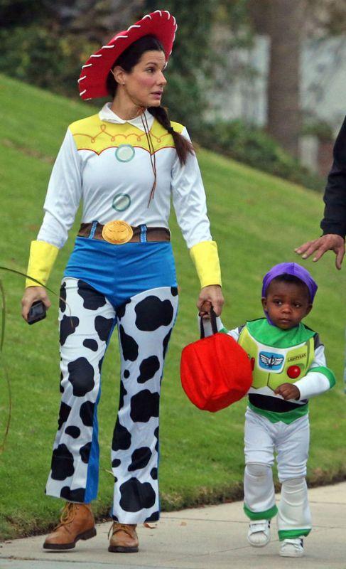 Durante Halloween, Sandra y su hijo han acertado con sus originales...
