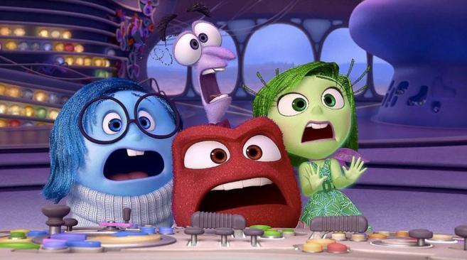 """Imagen de la nueva película de Disney y Pixar """"Inside Out"""""""