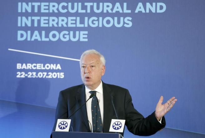 """García-Margallo durante la inauguración del """"Diálogo..."""