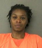 Sandra Bland tras ser detenida .