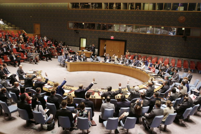 El Consejo de Seguridad de la ONU, en una de sus últimas reuniones...