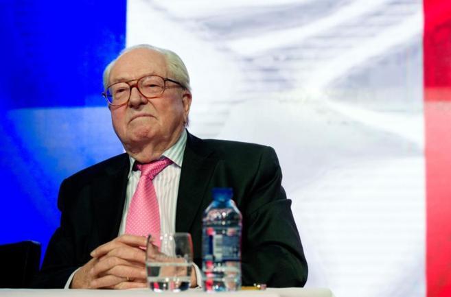 Jean-Marie Le Pen, cofundador de Frente Nacional y autor de las...