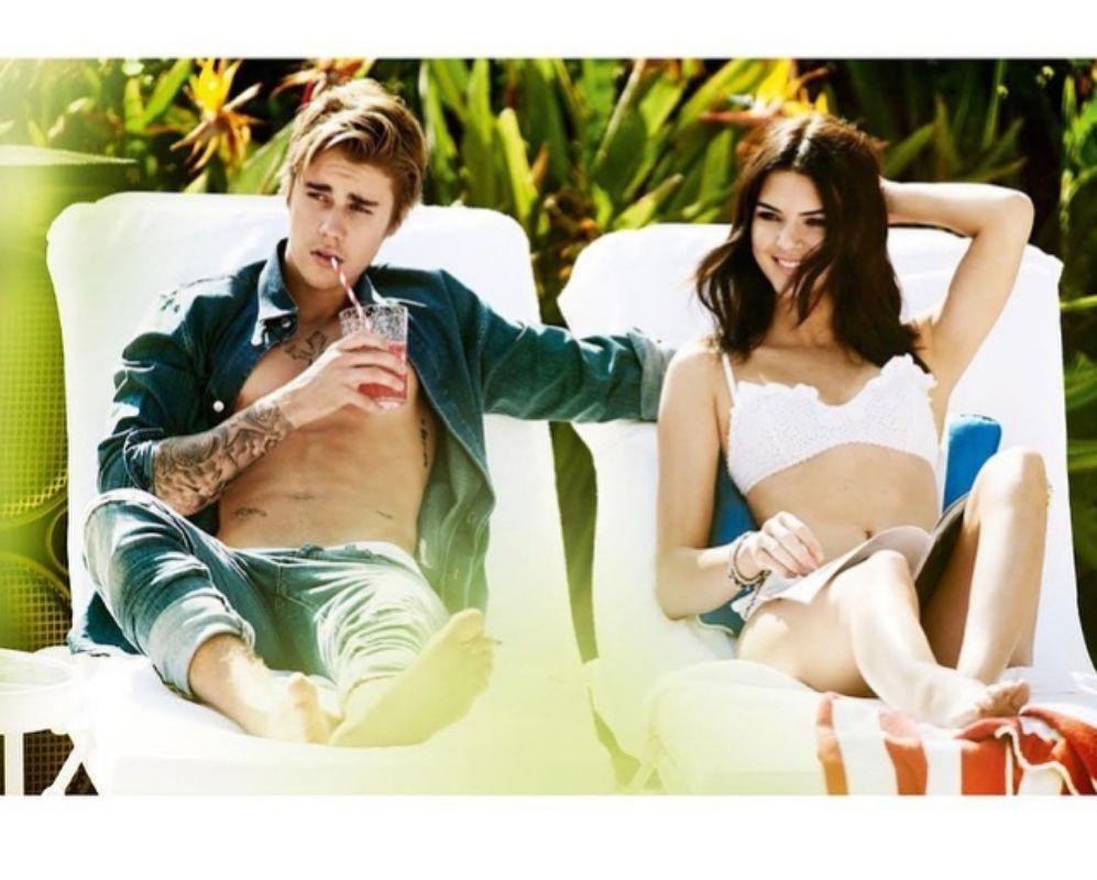 Kendall presume de sesión fotográfica con Justin Bieber