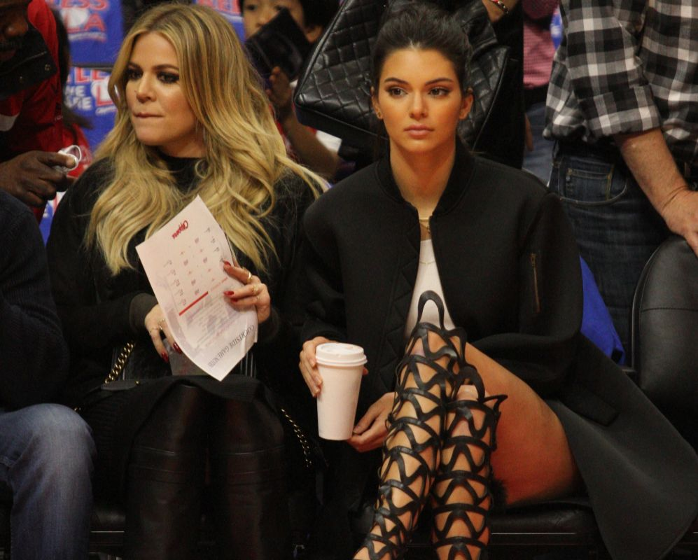 Kendall es musa de los Clippers y no se pierde un partido de...