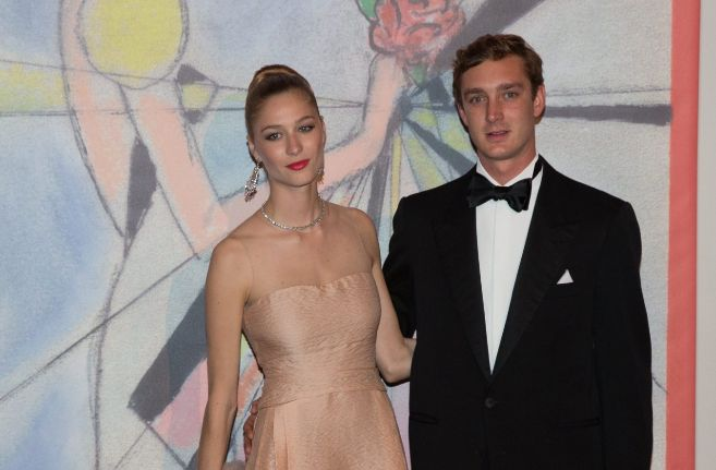 Beatrice Borromeo y Pierre Casiraghi, en una imagen reciente.