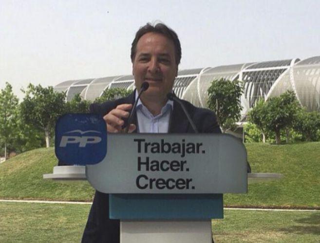 Jaime González Taboada, consejero de la Comunidad de Madrid.