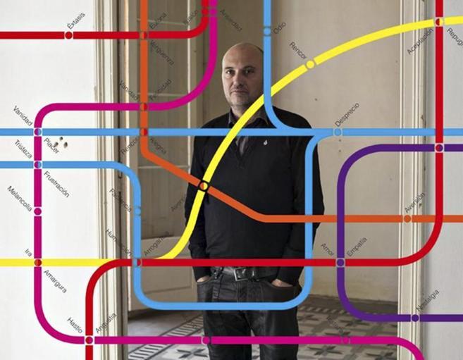 Jaime Serra, que expone su obra en el MAC Gas Natural de La Coruña,...