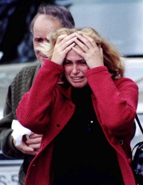 Marimar Díaz rota por el dolor tras conocer la muerte de su novio.