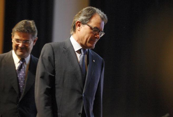 Artur Mas y Rafael Catalá en un acto reciente.