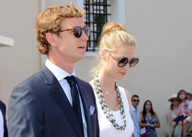La pareja, en la celebración del décimo aniversario del reinado del...