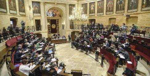 Pleno de Juntas Generales en Gernika