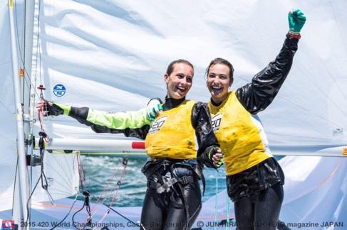 Dávila y Garrido celebran su triunfo este fin de semana en Japón.