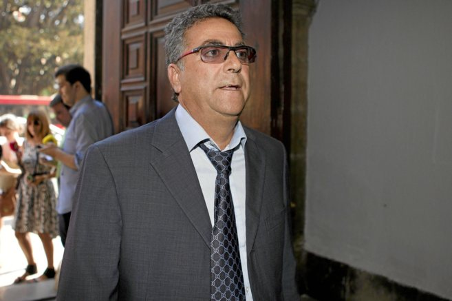 Declaración en el TSJ de Valencia del empresario Enrique Ortiz.