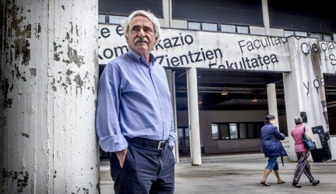 Ramón Zallo, catedrático de Comunicación Audiovisual en la UPV