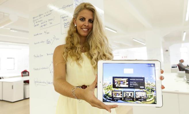 Rocío Bueno, fundadora y CEO de la compañía EasyStayTech.