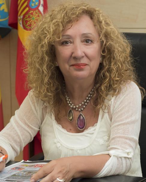La alcaldesa de Torreblanca, Josefa Tena.