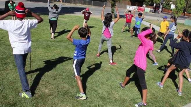 Una de las actividades de Young Outliers.