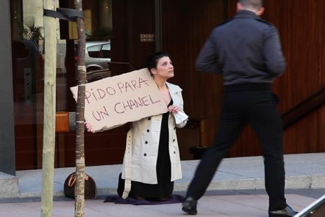 Yolanda Domínguez Pido para un Chanel