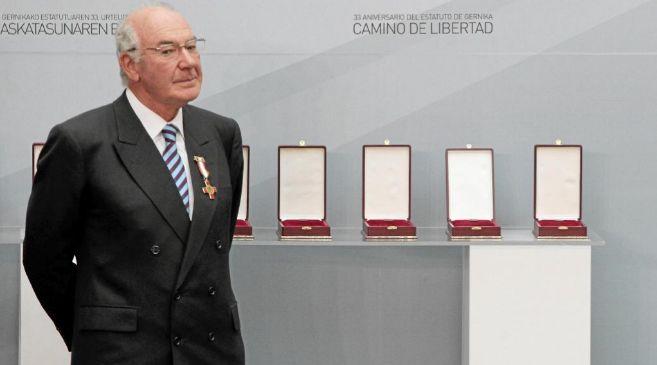 José Antonio Ardanza en la conmemoración del día del Estatuto de...