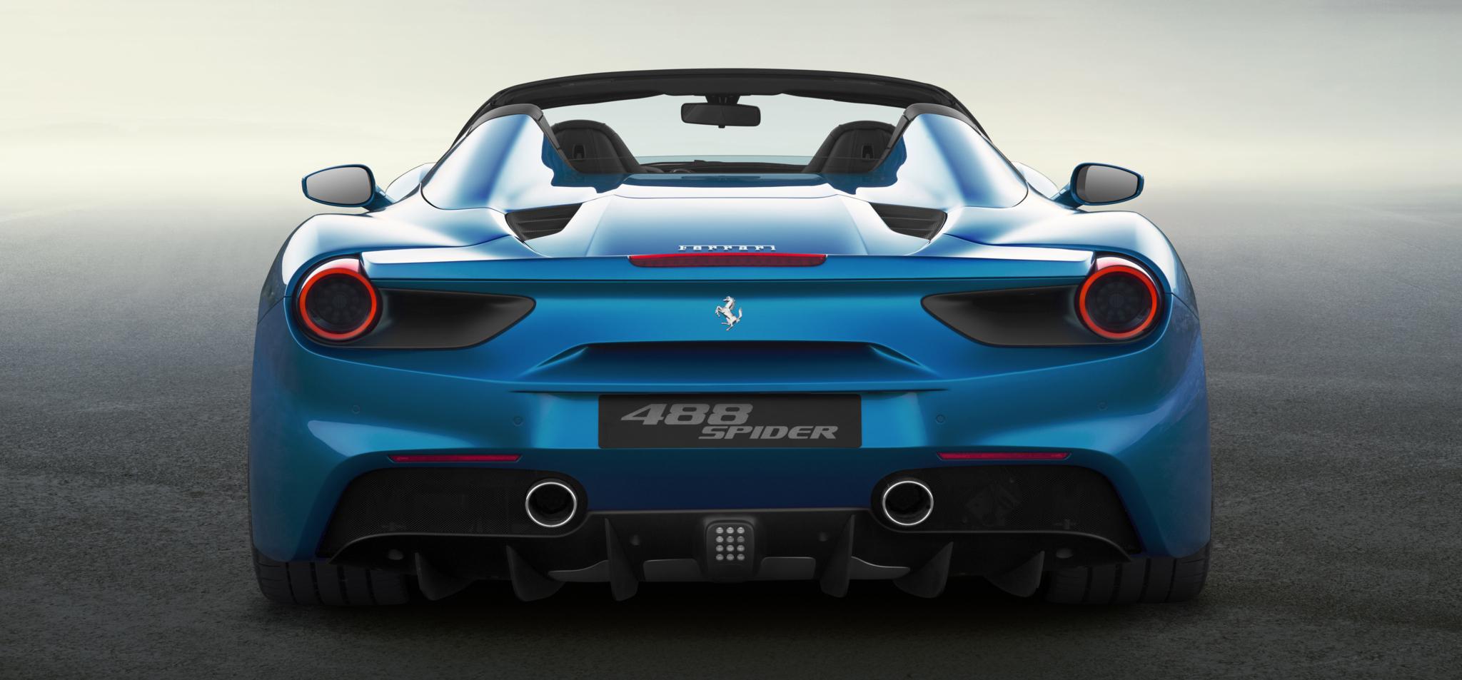 Ferrari 488 Spider A Cielo Abierto Por Unos 250 000 Euros Motor El Mundo