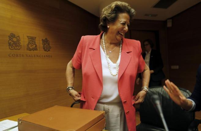 La ex alcaldesa de Valencia, Rita Barberá.
