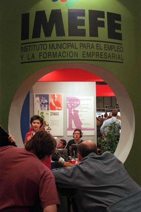 Estudios de radio del Imefe.
