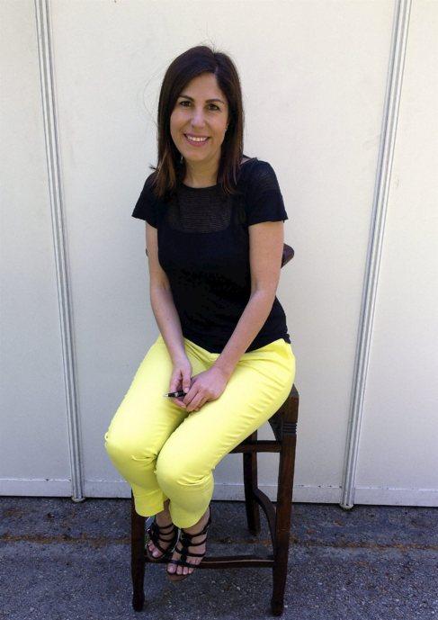 La escritora María Solar.